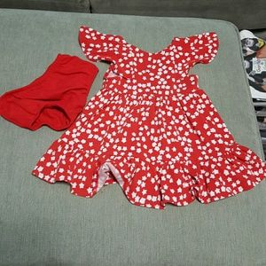 Cat and Jack Red Star Dress